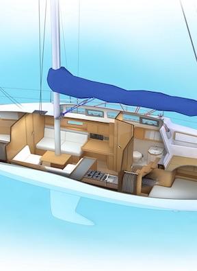 Устройство яхты