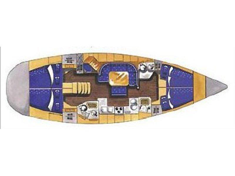Elan 45 (Nafsika) Plan image - 4