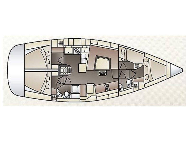 Elan 444 Impression (Marta X - BT) Plan image - 7