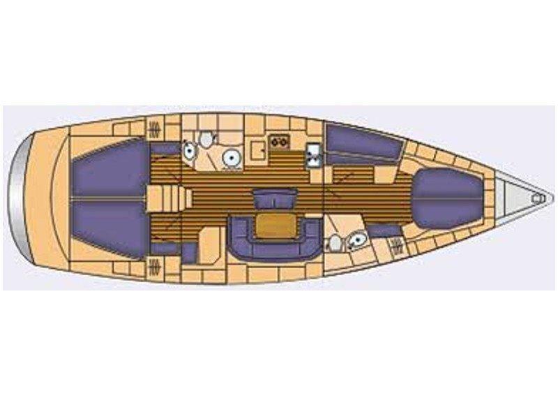 Bavaria 46 Cruiser (Argonaytis) Plan image - 9