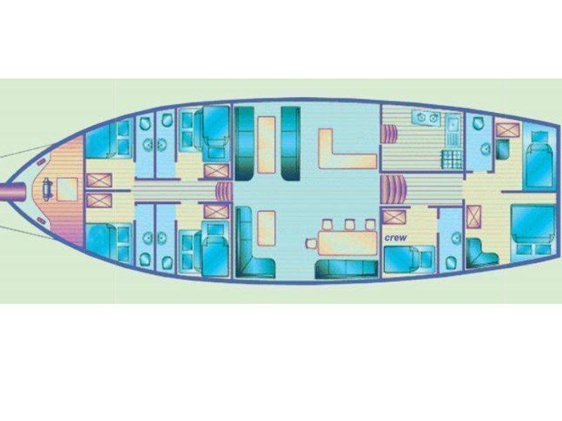 Gulet (Alissa) Plan image - 14