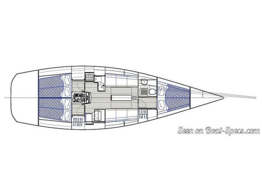 Swan 42 (SetSail) Plan image - 1