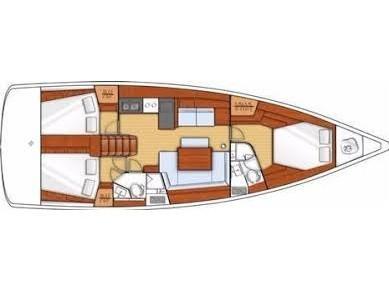 Oceanis 45 (HACHE) Plan image - 19