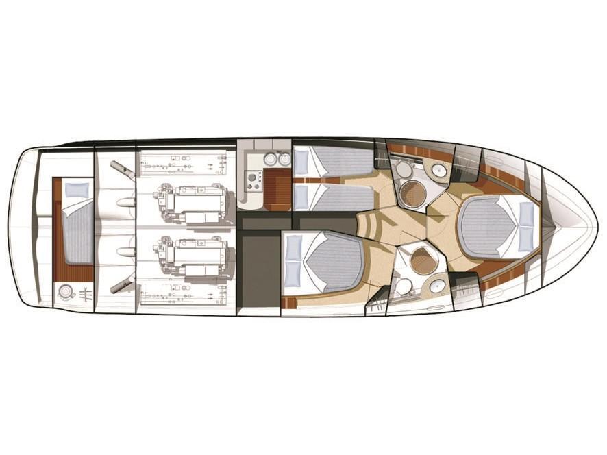 Prestige 46 Fly (ANJA) Plan image - 1