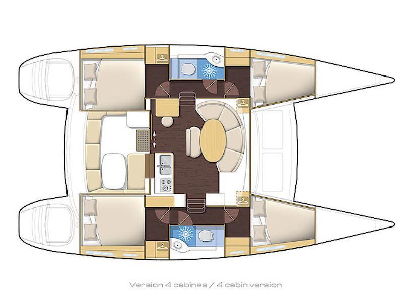 Lagoon 380 (Discovery) Plan image - 8