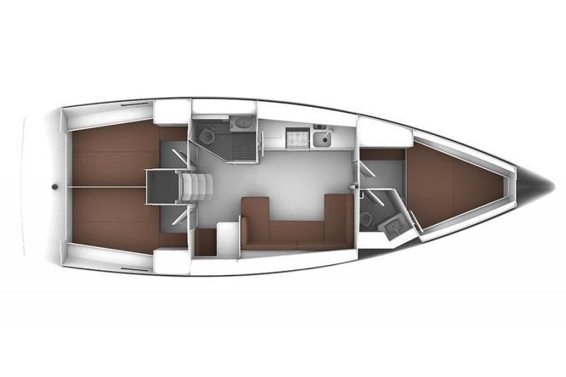 Bavaria Cruiser 41 (Ružica) Plan image - 2