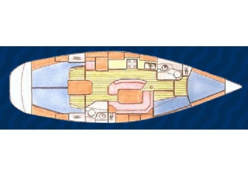 Sun Odyssey 42.2 (Orion III) Plan image - 4