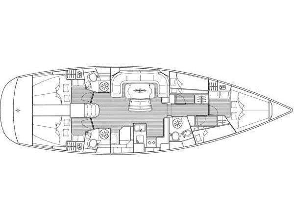 Bavaria 50 Cruiser (Paris) Plan image - 2