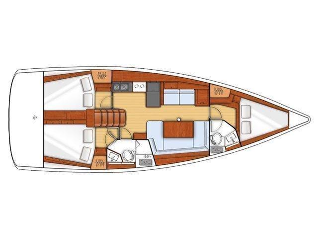 Oceanis 41 (Kino) Plan image - 8