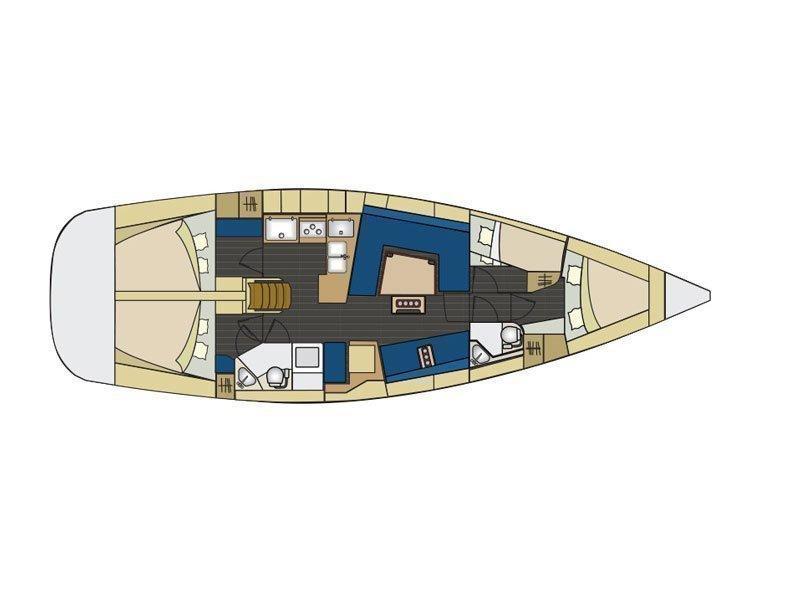 Elan 444 Impression (Marta X - BT) Plan image - 22