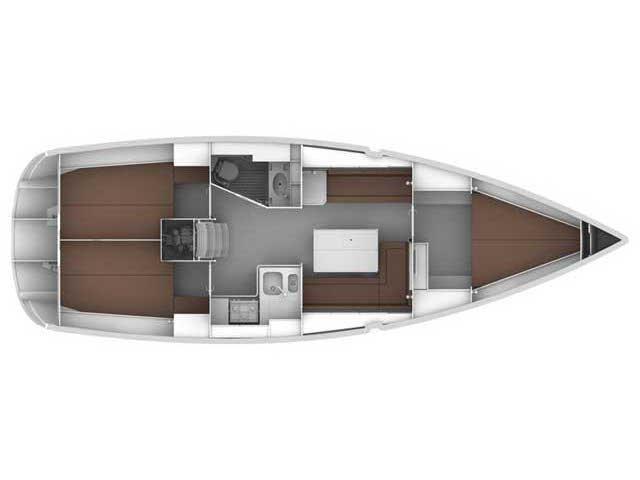 Bavaria Cruiser 36 (MIRA) Plan image - 21