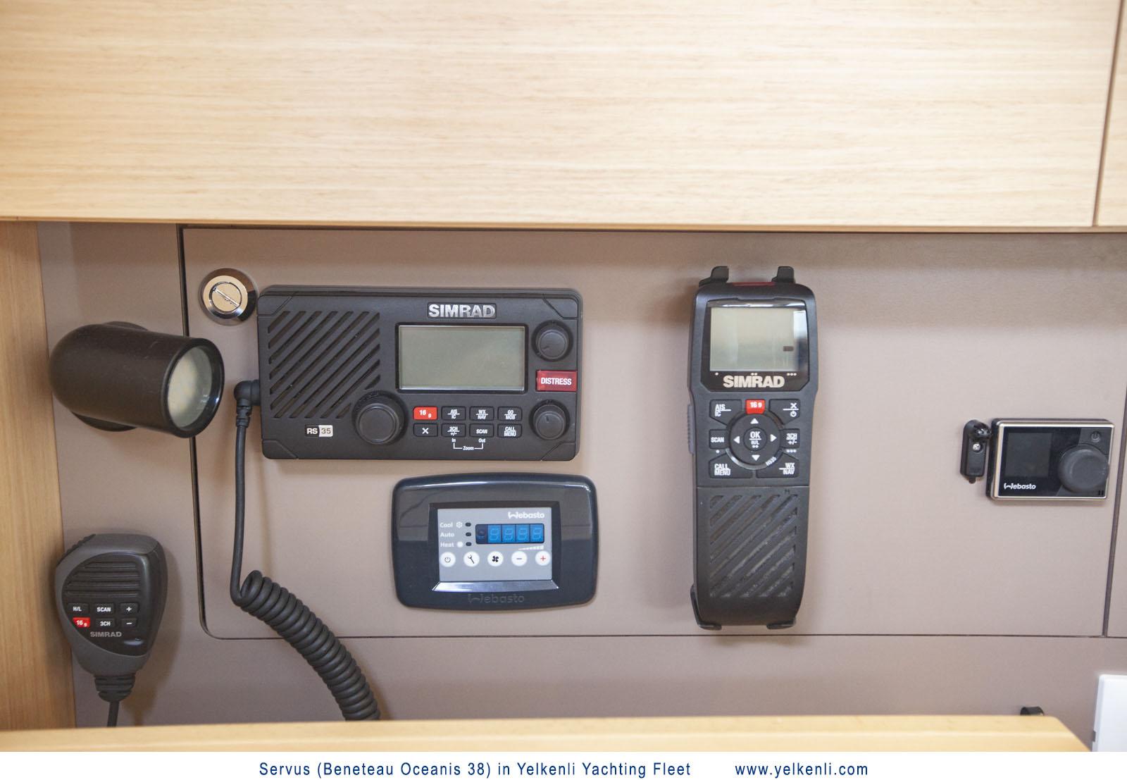 Oceanis 38 (Servus) VHF and Controls - 7