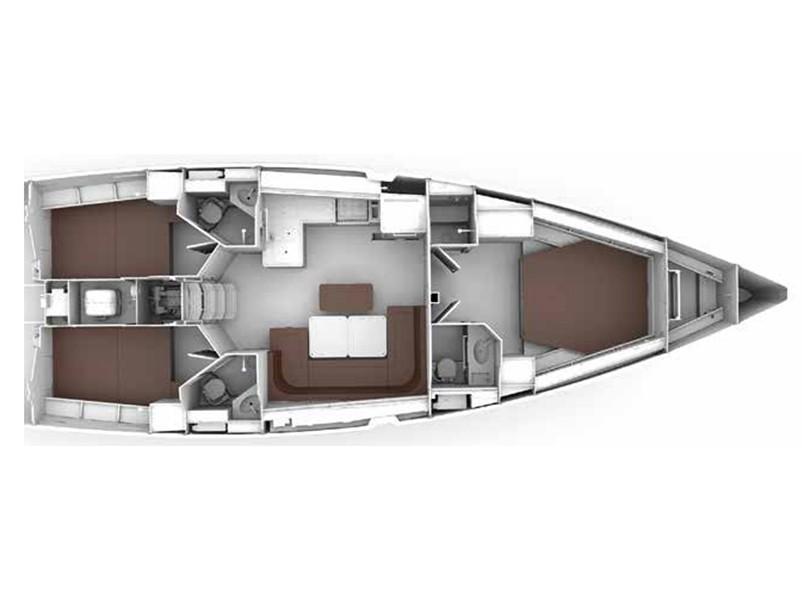 Bavaria Cruiser 46 Style (ISIK) Plan image - 6