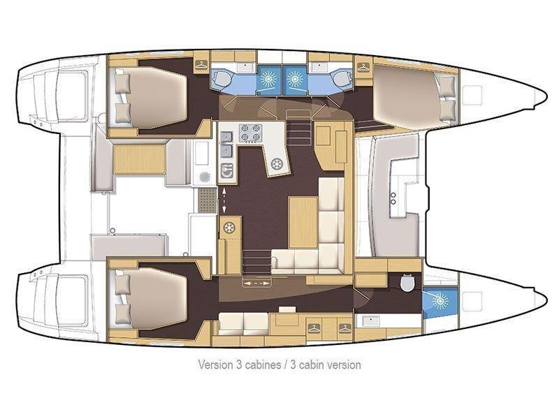 Lagoon 450 (Hermes) Plan image - 1