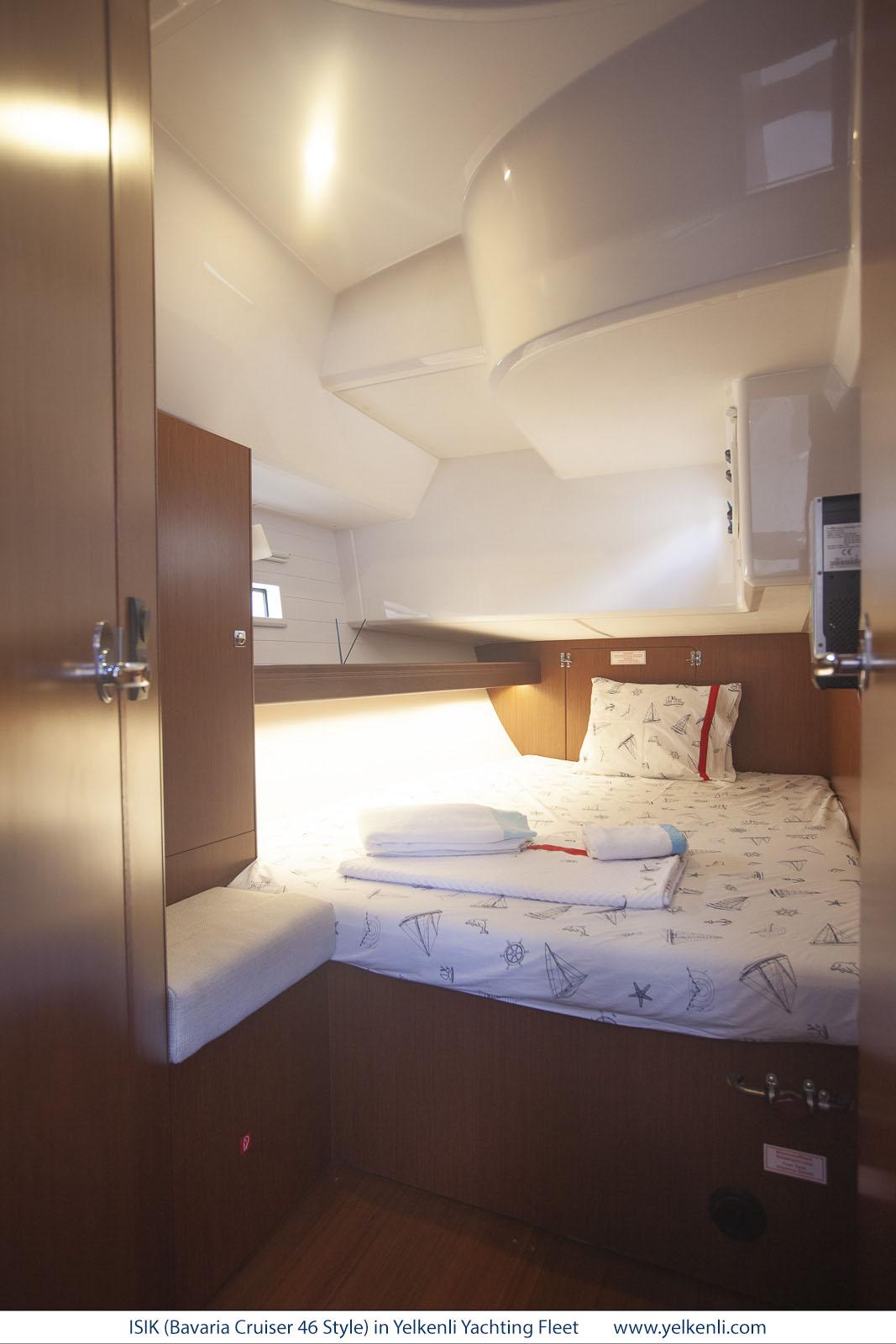 Bavaria Cruiser 46 Style (ISIK) Starboard Aft Cabin - 17