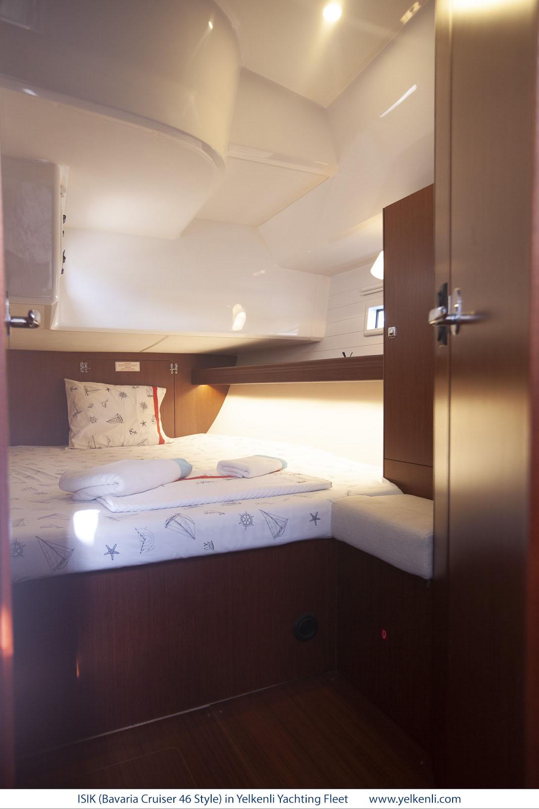 Bavaria Cruiser 46 Style (ISIK) Port Aft Cabin - 5