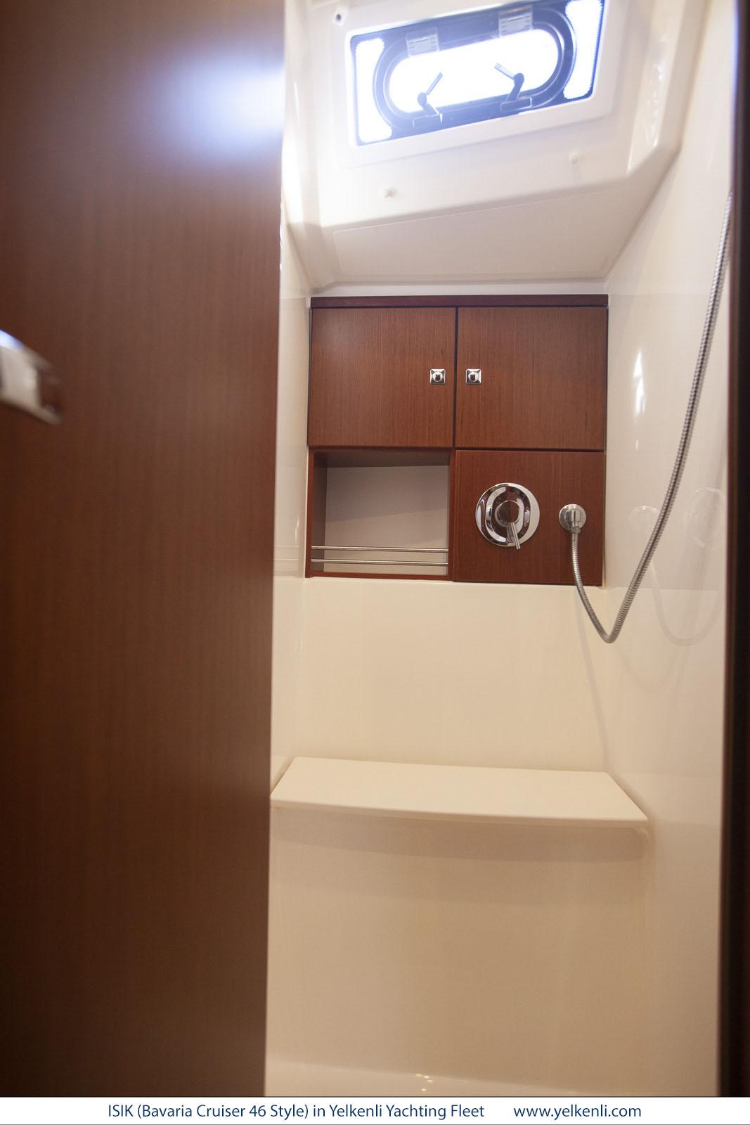 Bavaria Cruiser 46 Style (ISIK) Front Shower - 7