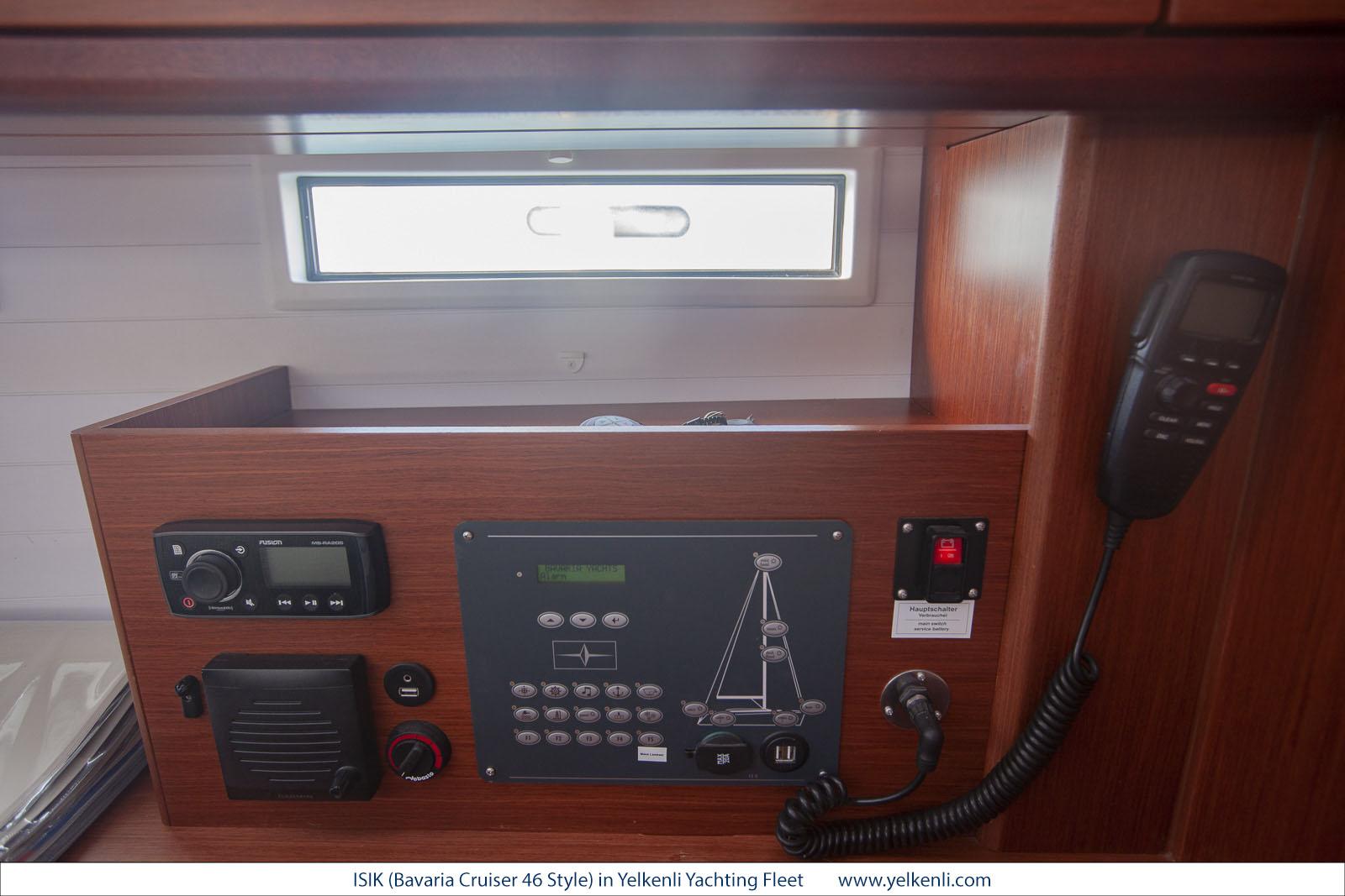 Bavaria Cruiser 46 Style (ISIK) Chart Table Detail - 11