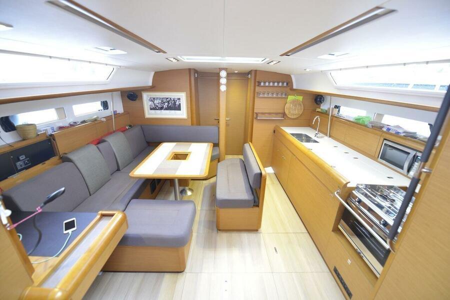 Sun Odyssey 479 - 4 cab. (Norwegian wood)  - 5