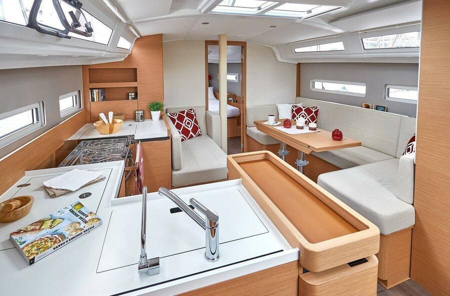 Sun Odyssey 410 - 3 cab. (Sea Breeze)  - 9