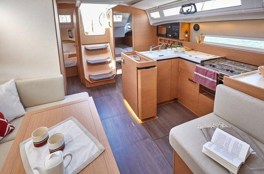 Sun Odyssey 410 - 3 cab. (Sea Breeze)  - 10