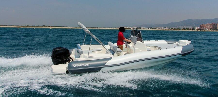 Marlin 790 PRO GRAY ORANGE - 0