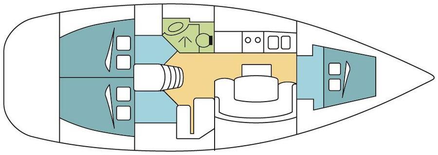CYCLADES 39.3 - BRAZIL - 1
