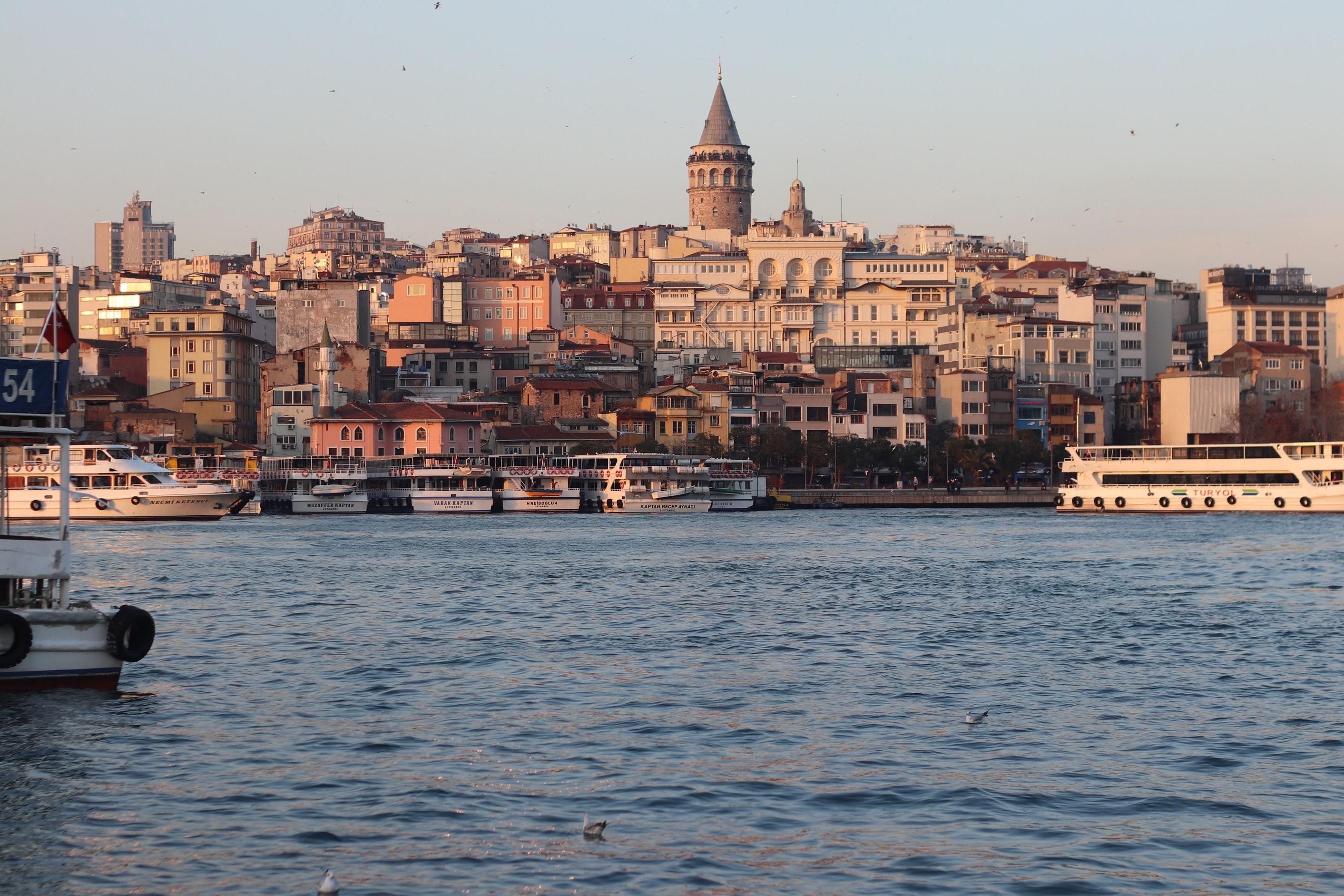 Морской круиз в Турции