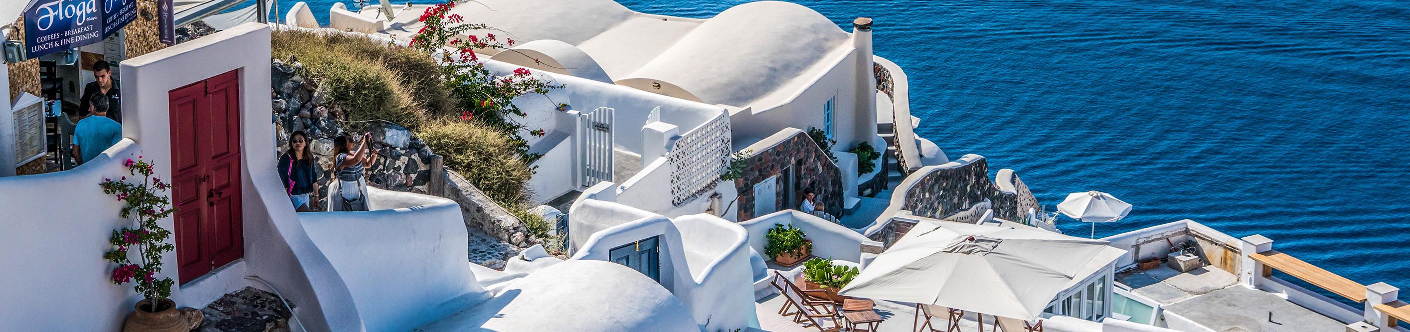 Морской круиз в Греции