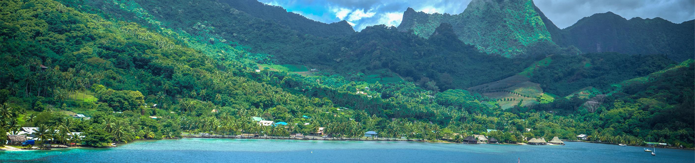 Морской круиз в Полинезии